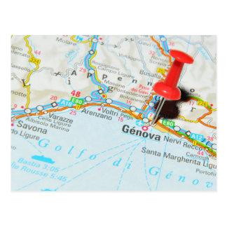 Genova, Italy Postcard