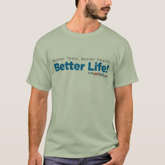 Genova Men's T-shirt 'Better Life!'