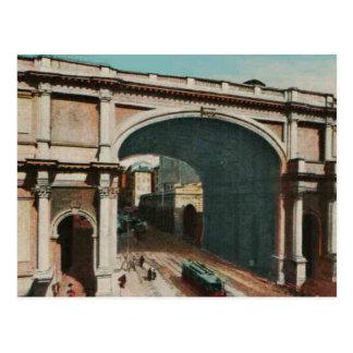 Genova Monumental gate Replica 1925 Postcard