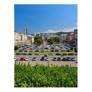 Genova - Piazza Della Vittoria Postcard