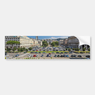 Génova - plaza Della Vittoria Pegatina Para Coche