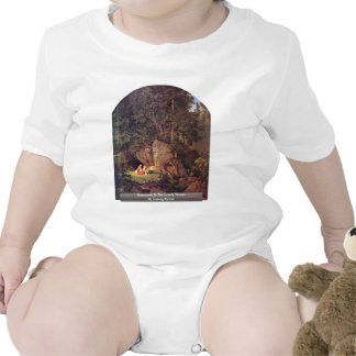 Genoveva In The Lonely Woods By Ludwig Richter T-shirts