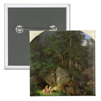Genoveva in the Wood Clearing, 1839-41 Button
