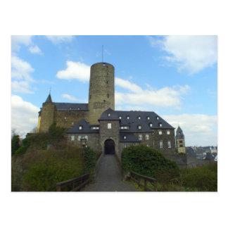 Genovevaburg, castillo en Mayen, Alemania Postal