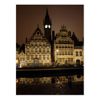 Gent in the Night Postcard