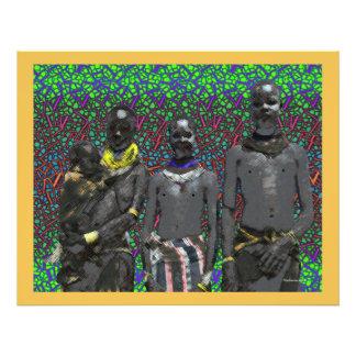 Gente africana de Bush Fotografías