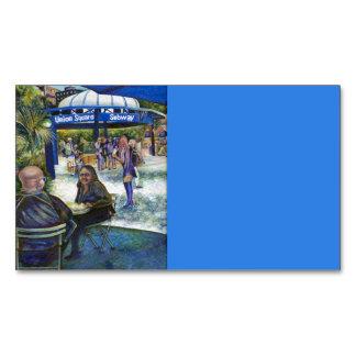 Gente apasionada que juega en el parque, NYC Tarjetas De Visita Magnéticas (paquete De 25)