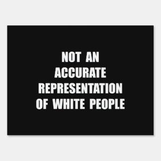 Gente blanca carteles