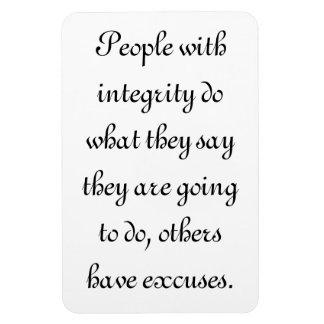 Gente con integridad imanes flexibles