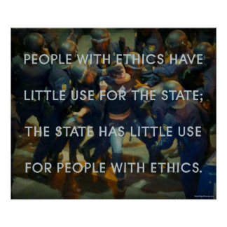 Gente con los éticas póster