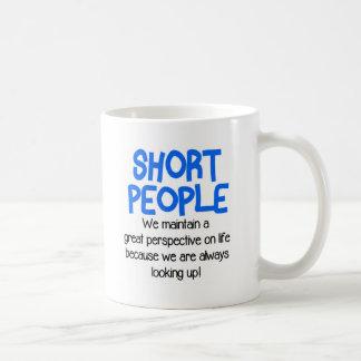 Gente corta divertida taza