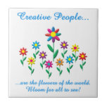 Gente creativa azulejos