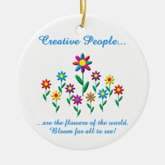 Gente creativa ornato