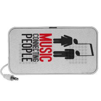 Gente de conexión de la música mini altavoces