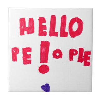 ¡Gente de Helloe! Teja