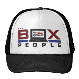 Gente de la caja gorra