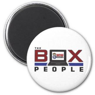 Gente de la caja imán redondo 5 cm