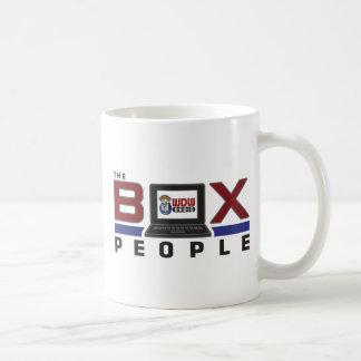 Gente de la caja taza básica blanca