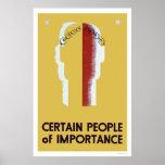 Gente de la importancia WPA 1937 Posters