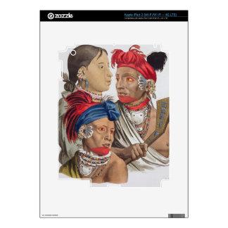 Gente de la nación de Osagi, de 'Le Costume Ancie iPad 3 Pegatina Skin