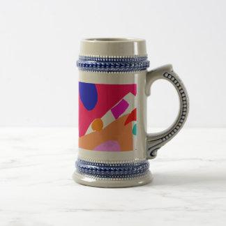 Gente de la nave de las importaciones/exportacione tazas de café
