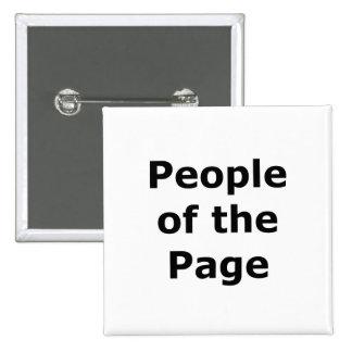 Gente de la página pin cuadrado