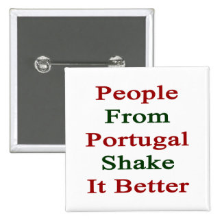 Gente de la sacudida de Portugal él mejor Pin