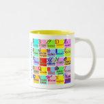 Gente de letras tazas de café