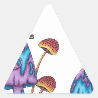¡Gente de Micest que conozco! Pegatina Triangular