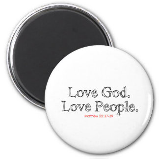 Gente del amor de dios del amor imán