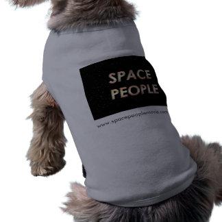 ¡Gente del espacio - la camisa del perro! Playera Sin Mangas Para Perro