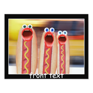 Gente del Weenie Invitación 10,8 X 13,9 Cm
