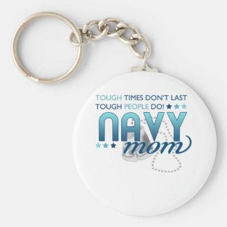 Gente dura (mamá de la marina de guerra) llavero