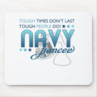 Gente dura prometido de la marina de guerra alfombrilla de ratón