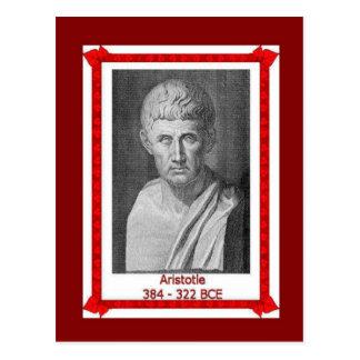 Gente famosa, BCE de Aristóteles 384 - 322 Tarjetas Postales