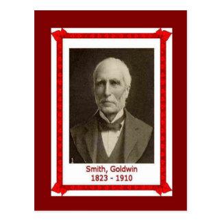 Gente famosa, Goldwin Smith 1823-1910 Postal