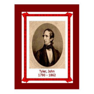 Gente famosa, John Tyler, 1790-1862 Postal