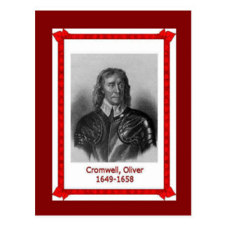 Gente famosa, Oliver Cromwell Postales
