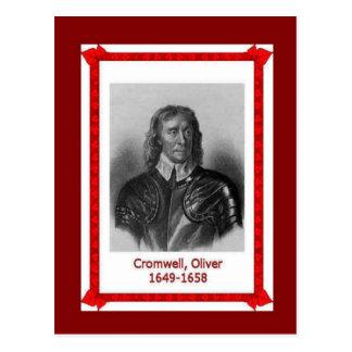 Gente famosa, Oliver Cromwell Tarjetas Postales