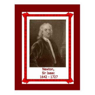 Gente famosa, sir Isaac Newton 1642 -1727 Postales