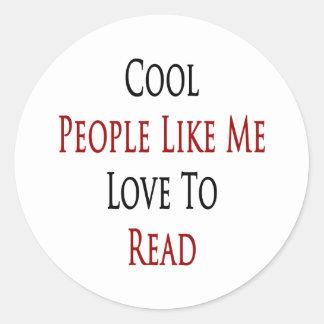 Gente fresca como mí amor a leer etiqueta