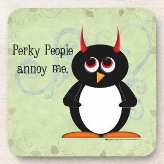 Gente gallarda malvada de Penguin™ Posavaso