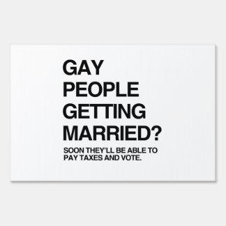 GENTE GAY QUE CONSIGUE CASADA SEÑALES