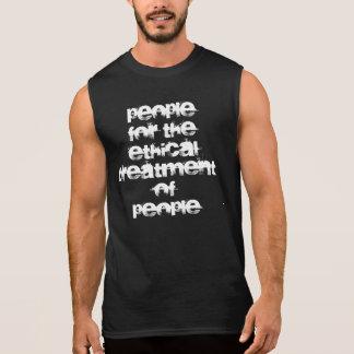 gente para el tratamiento ético de la gente - homb remera sin mangas