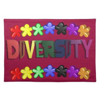 Gente Placemat de Lil de la diversidad Manteles Individuales
