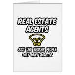 Gente regular de los agentes inmobiliarios…, solam tarjeta