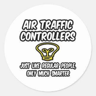 Gente regular de los controladores aéreos…, más pegatina redonda