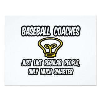 Gente regular de los entrenadores de béisbol…, comunicados personales