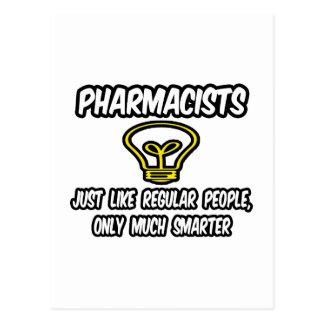 Gente regular de los farmacéuticos…, solamente más tarjeta postal