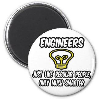 Gente regular de los ingenieros…, solamente más el imán para frigorifico